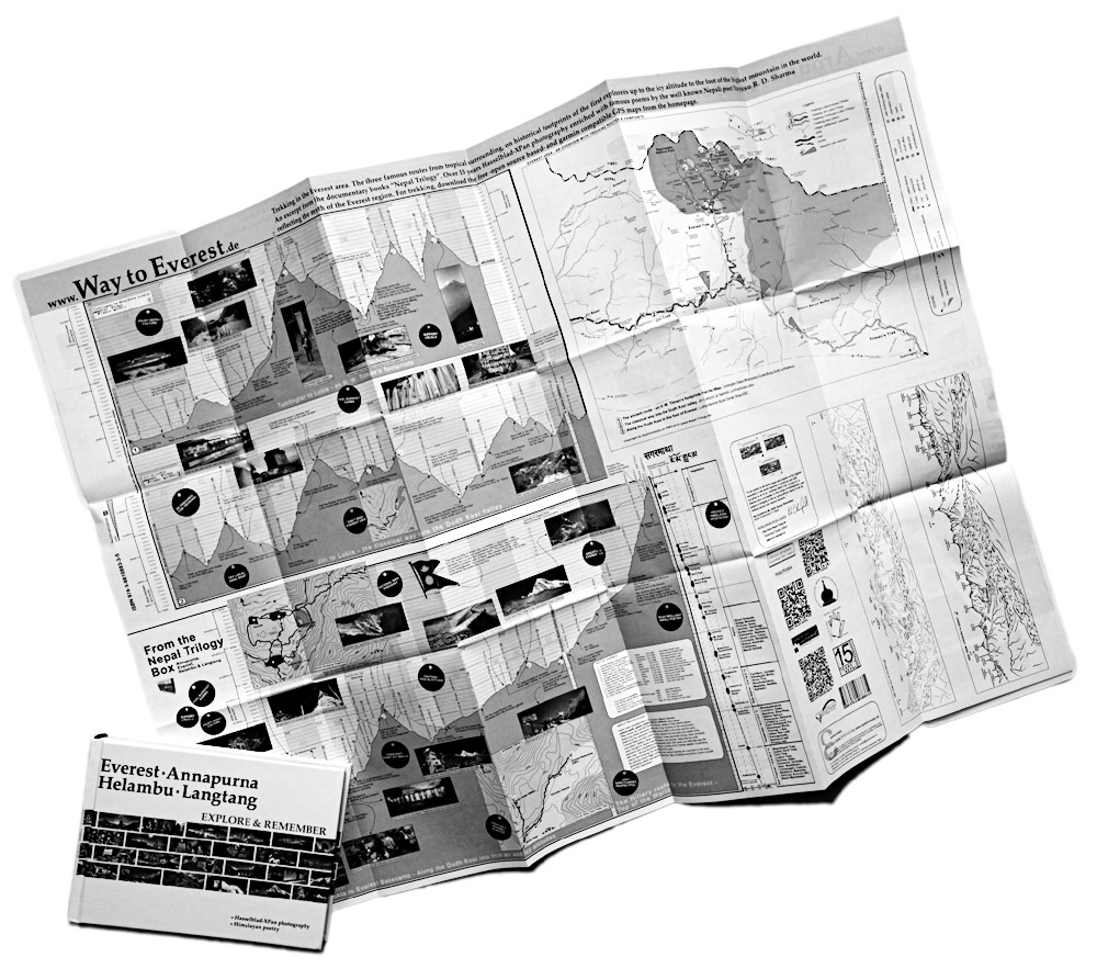 Nepal Trilogy Map & Book